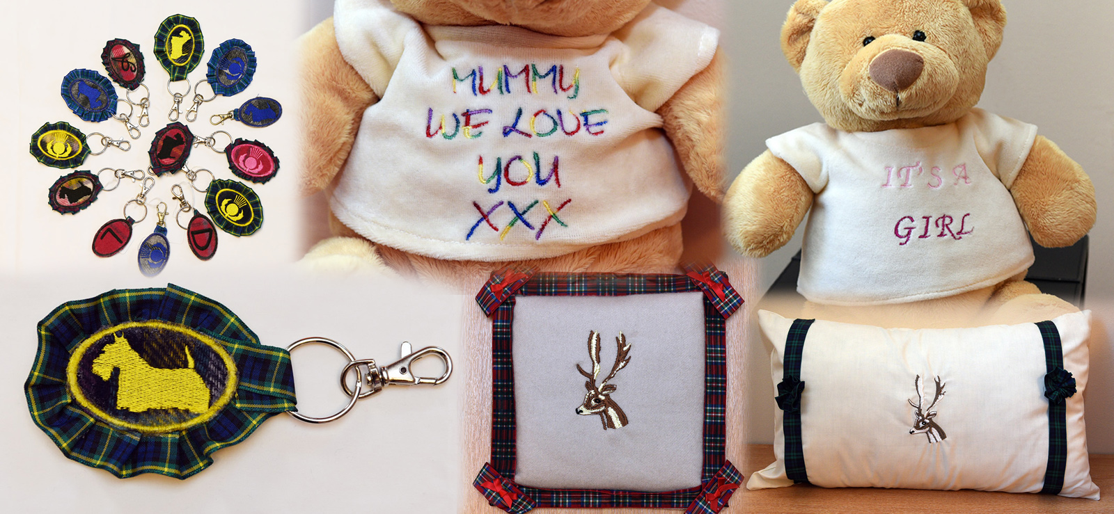 IN STITCHES PERSONALISED EMBROIDERY GIFTS ELGIN MORAY