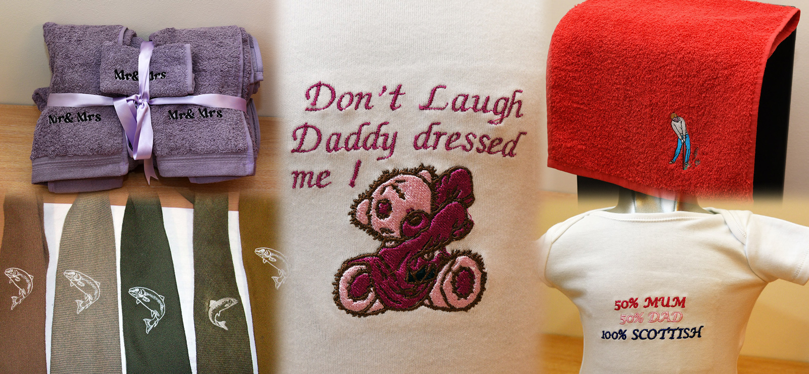IN STITCHES PERSONALISED EMBROIDERY ELGIN MORAY